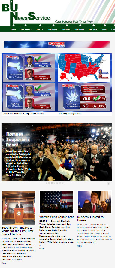 Decision 2012 Web Site